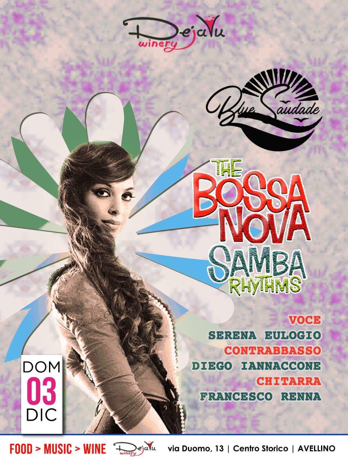 Blue Saudade - Live 3 Dicembre Dejavu