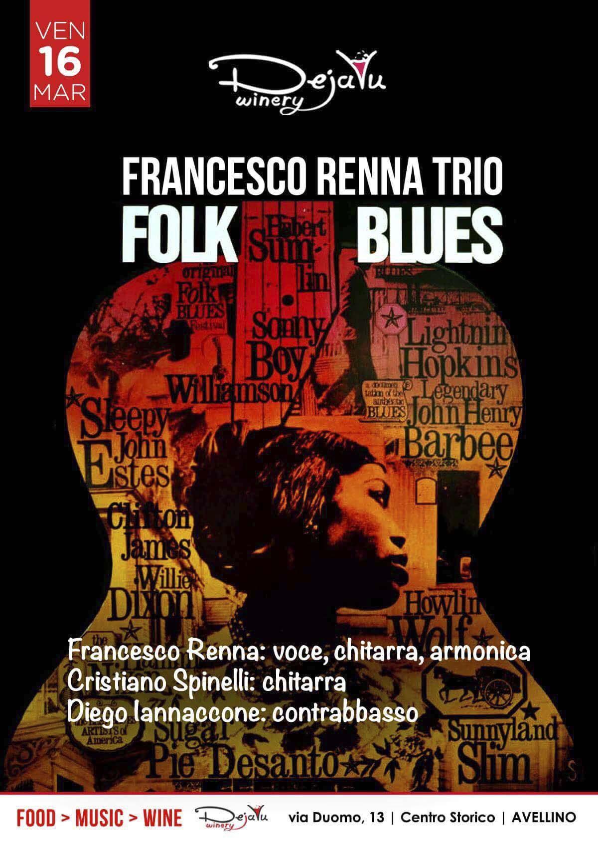Francesco Renna Trio live al Dejavù, Avellino