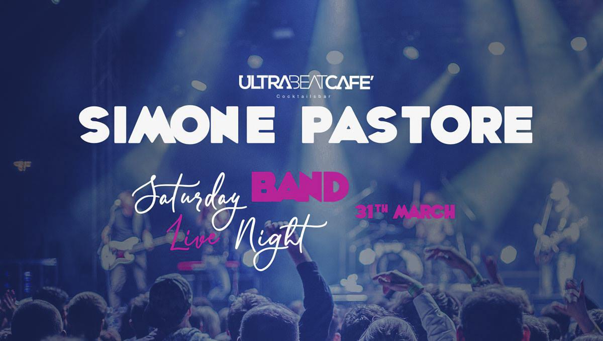 Simone Pastore Acoustic Band live