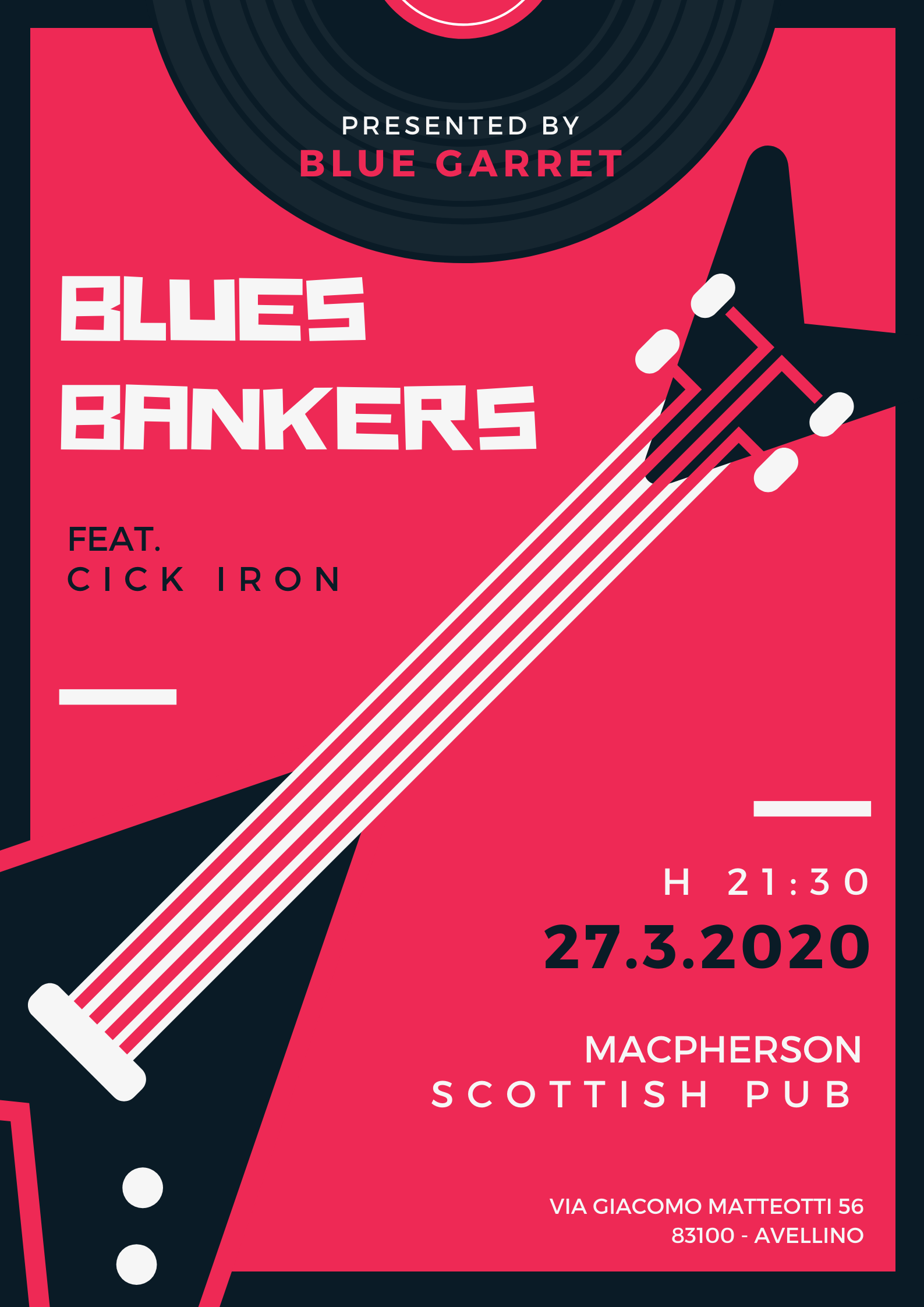 Blues Bankers live at MacPherson Scottish Pub