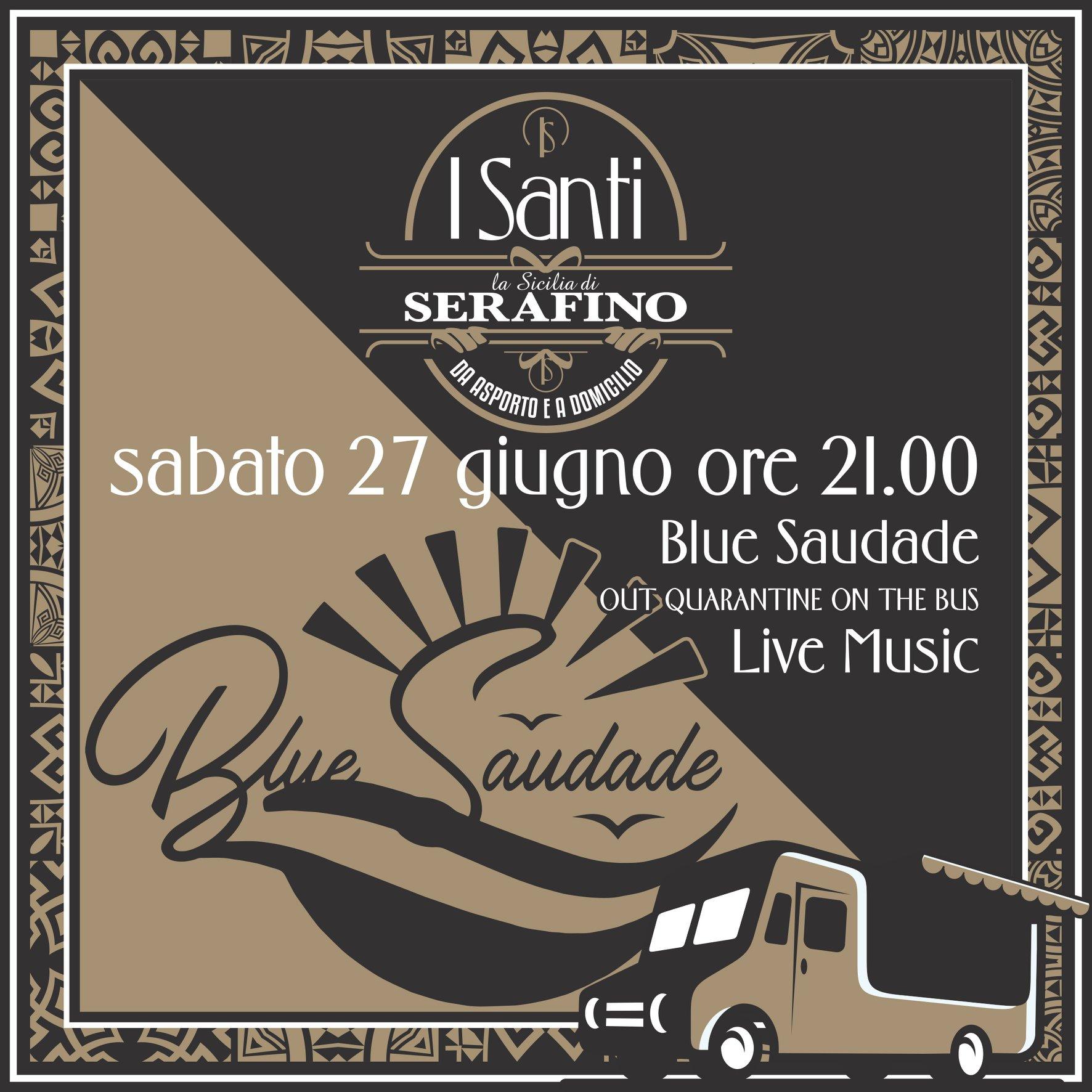 Blue Saudade live a I Santi, Mercogliano (AV)